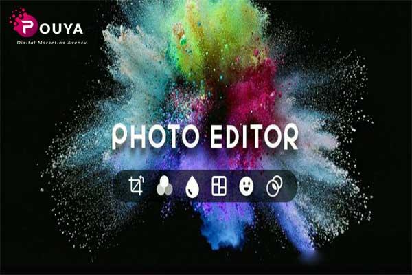 برنامه ادیت عکس در تولید محتوا با گوشی
