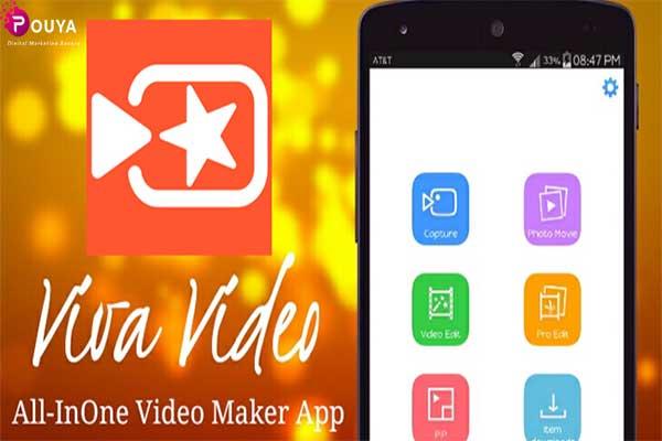 برنامه ویرایش ویدئو در تولید محتوا با گوشی