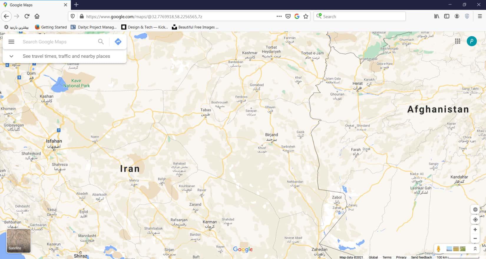 ثبت مکان در گوگل مپ با کامپیوتر