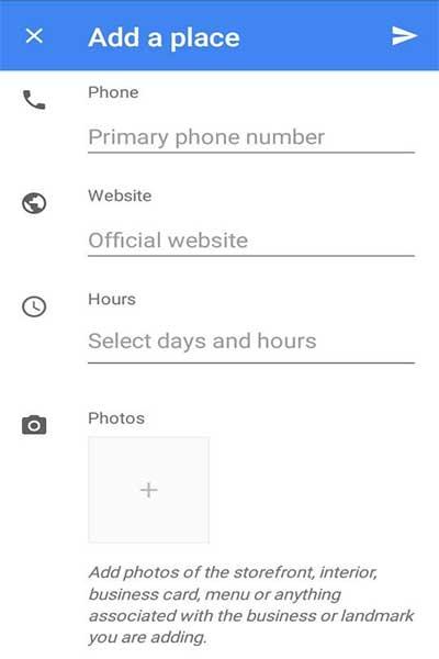 چرا مکان در گوگل مپ ثبت نمیشود (2)