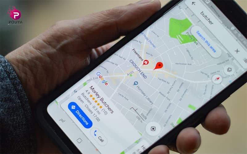 چگونه در گوگل مپ مکانی را ثبت کنیم؟